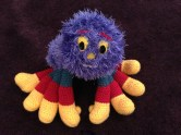 Woolly the Spider crochet pattern