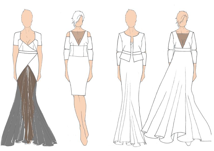 sketches for Eeppi Ursin