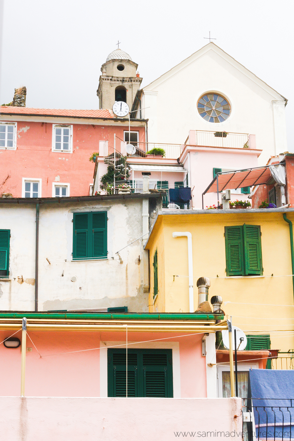 SamiM Adventures 3 things to do while in Cinque Terre, Italy Vernazza