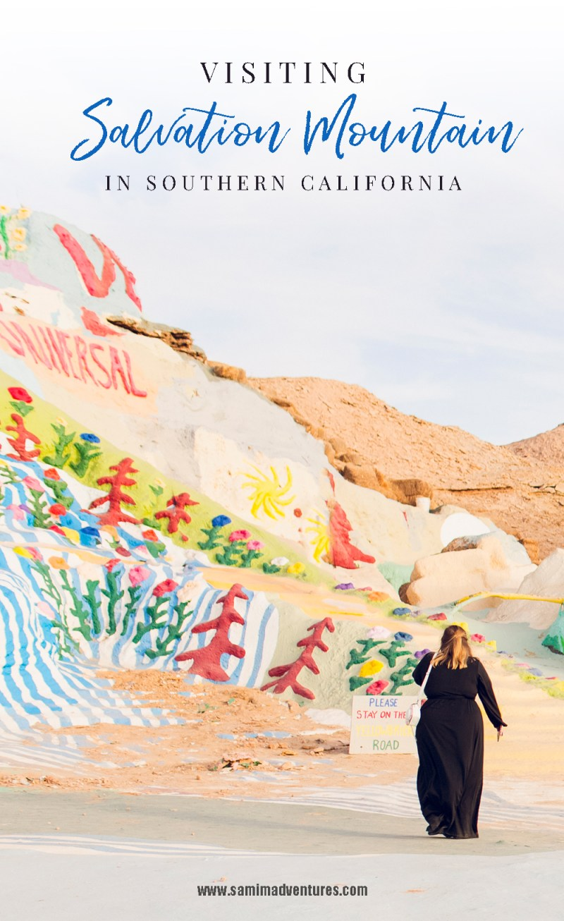 Visiting Salvation Mountain in Southern California