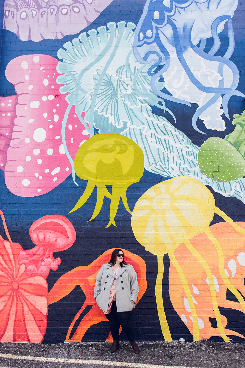 Cool spots for photos in Jacksonville | Murray Hill Jellyfish Mural