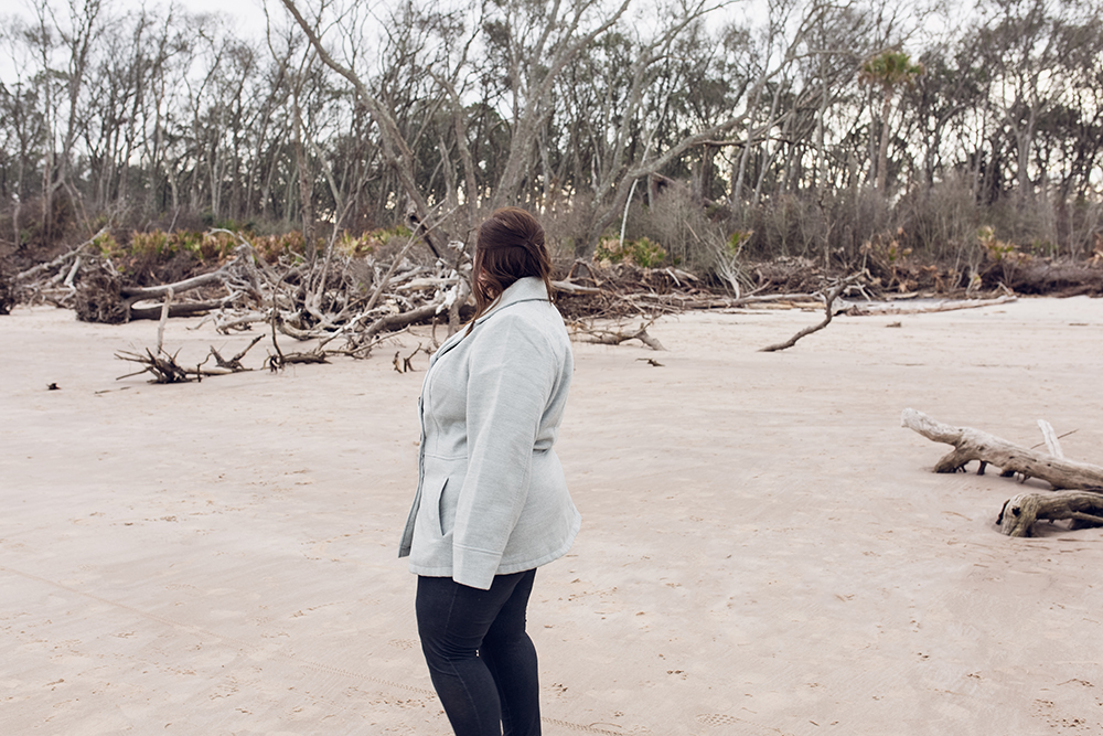 Cool spots for photos in Jacksonville   Driftwood beach at Big Talbot State Park