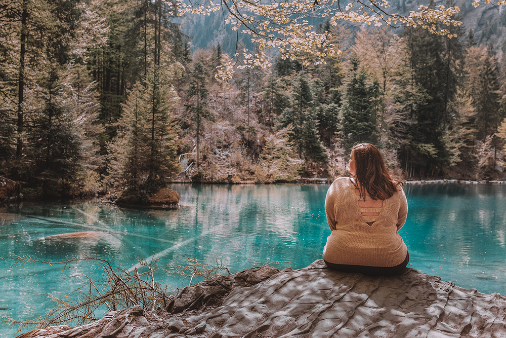 A day trip to Lake Blausee, Switzerland