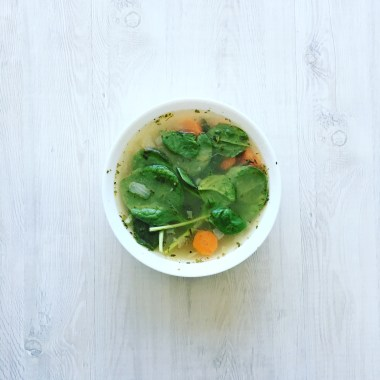 Healthy and Hearty Chicken Soup