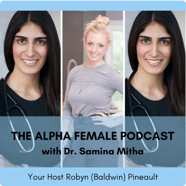 Alpha Female Podcast: PCOS Warrior and Naturopath Dr. Samina Mith‪a