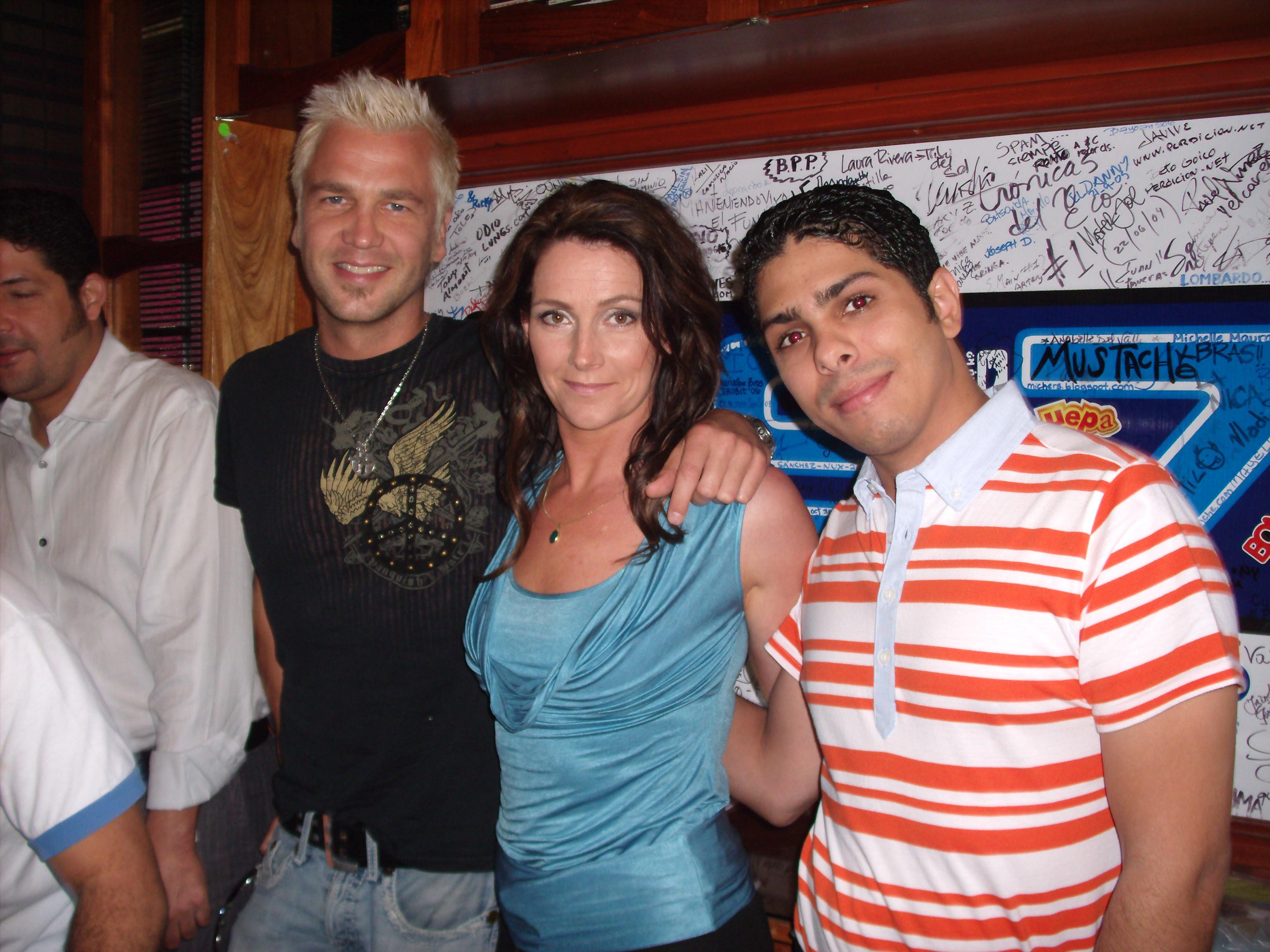 """Ulf """"Buddha"""" Ekberg y Jenny Berggren, de Ace Of Base y Samir Saba"""
