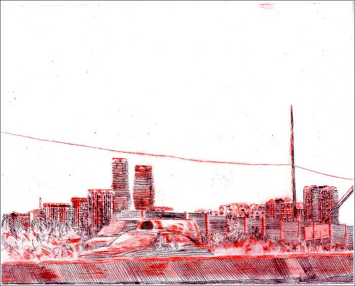 Mississauga Towers, 2013. Matt McInnes.