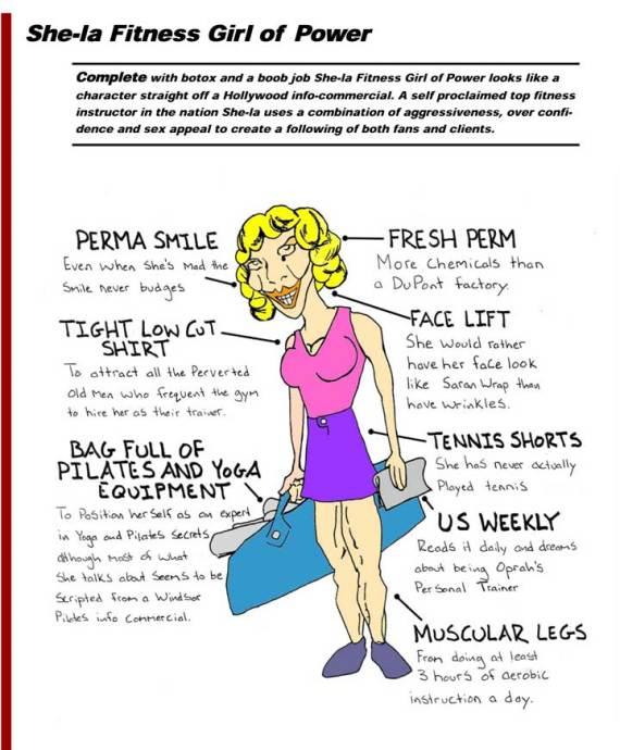Freaks Of The Gym She La Fitness Girl Of Power Sam Kressin