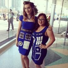 Double TARDIS Cosplay