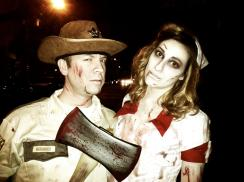 Rick Grimes and The Walking Dead Zombie Cosplay
