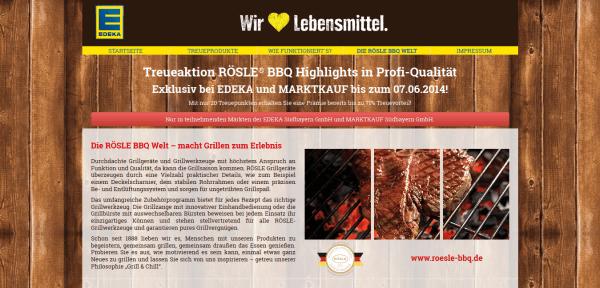 EDEKA und MARKTKAUF Treueaktion - RÖSLE® BBQ Highlights in Profi-Qualität- Die RÖSLE BBQ Welt 2014-05-22 19-42-40