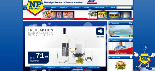 NP Niedrige Preise   Clevere Kunden