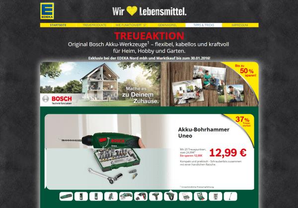 Edeka Bosch Werkeuge
