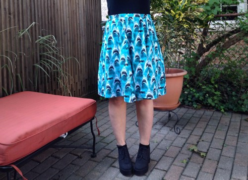 Jaws Skirt front