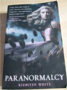 paranormalcy front cover by kiersten white