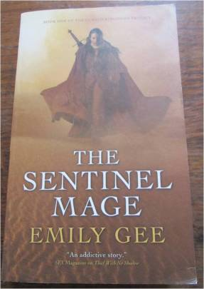 the sentinel mage front cover