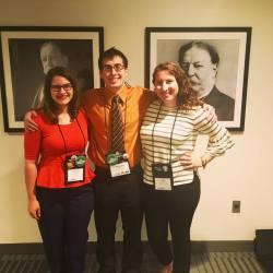 Slippery Rock ACPA17 Case Competition Team! (w/ Alex Rizzutto. Julia Vizcaino, & President Taft)