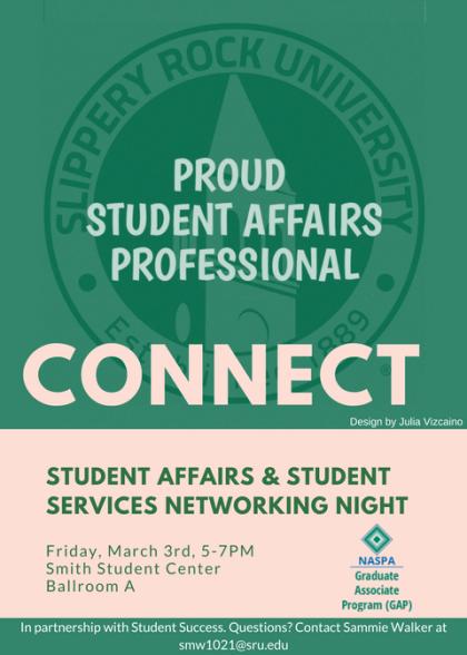 NASPA GAP Program hosted with SRU Student Success