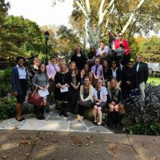First-year cohort visit to the University of Pittsburgh in November