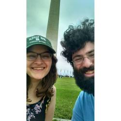 Brian and I at the Washington Monument