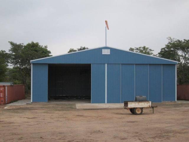 Hangar doors 2