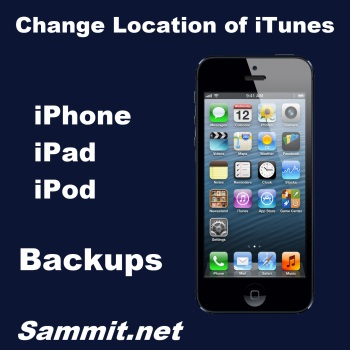How to Change the Location of Your iTunes iPhone, iPad or