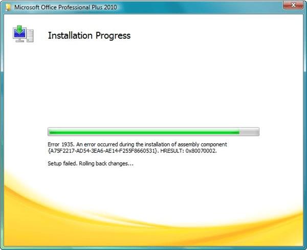 office 2010 pro install key