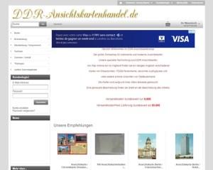 DDR Ansichtskartenshop