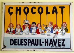 Chocolat Delespaul-Havez - Emaillerie Alsacienne Strasbourg