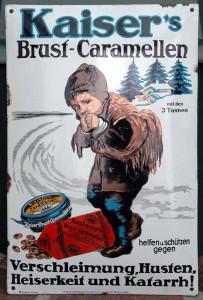 KAISER'S BRUST-CARAMELLEN - Torpedo Email, 1915