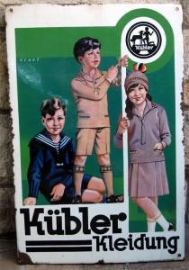 Kübler Kleidung - 30er Jahre
