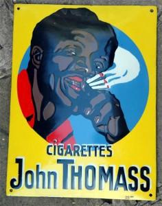 Cigarettes John Thomass, gelb, 1928