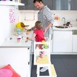 Lernturm Selber Bauen Ikea Hack Aus Zwei Hockern Mit Einfacher Anleitung