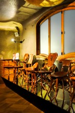 Chairs designed by Gaudi himself