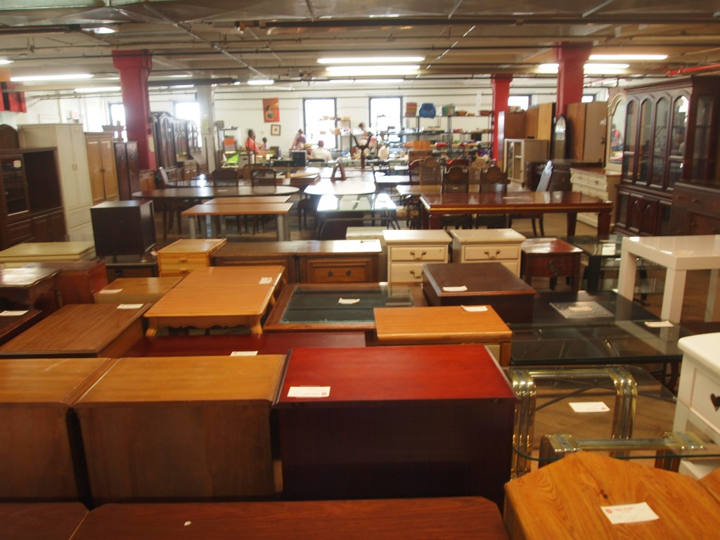 Thrift Shopping Salvation Army For A Brooklyn Bedroom