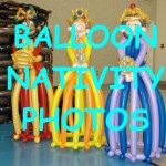 Balloon Nativity Pictures