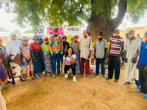 Most Rural dwellers do not believe COVID-19 Is real- GMB 2014 winner Baci shares experience from her Campaign tour 11