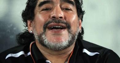 Football icon, Maradona has died