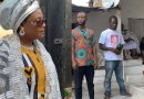 Video: Drama unfolds as artiste fails to sign contract in a shrine