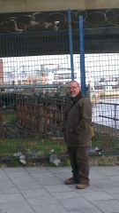 My friend lives in Detroit. The urban DMZ feel at Donegall Quay made him feel right at home.