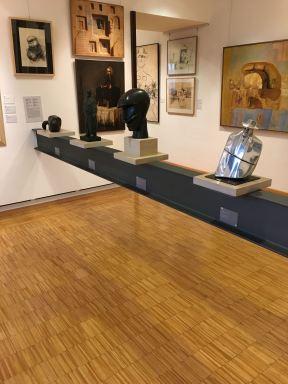 Raumtrenner in der Moderna Galerija