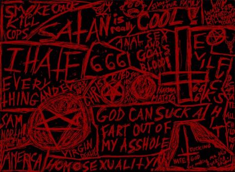 """""""Evil."""" 11/1/12. Pen. 8½x11""""."""