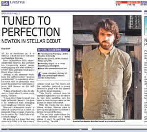 An article of me from the Hills Shire Times