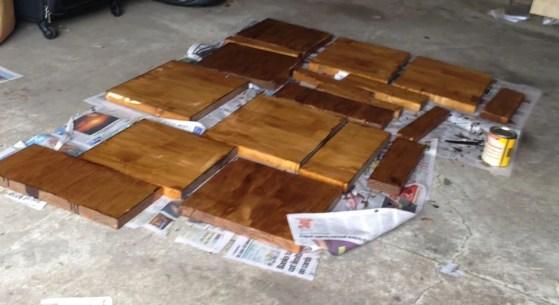 varnish layer 1