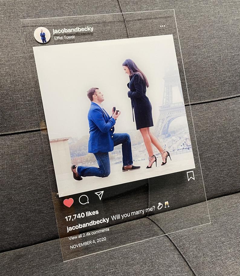 Instagram Glasbild