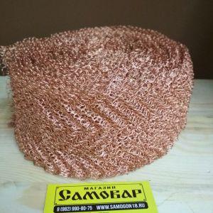 Регулярная проволочная насадка Панченкова (РПН) - медь 10см