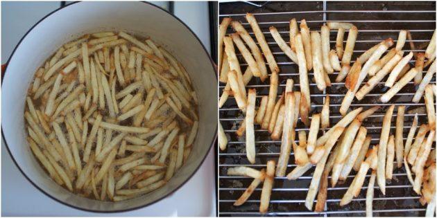 Jak przygotować prawdziwe frytki ziemniaczane