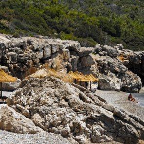 kaladakia beach right site