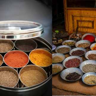Spices and Dabba