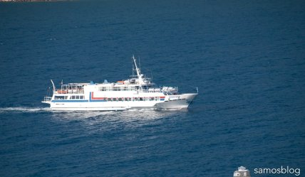Tour boat Samos Star for Kusadasi